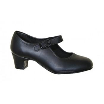 Zapato de Flamenca Negro