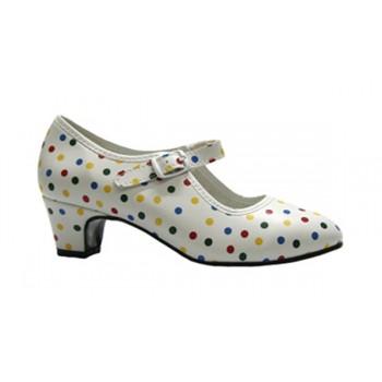Zapato de Flamenca Lunares