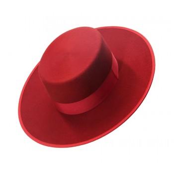 Sombrero  Lana Rojo