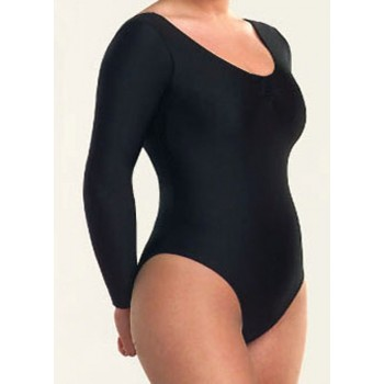 Maillot Black Long Sleeve Lady