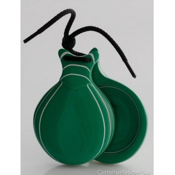 Castanet Green Glass Normal Box