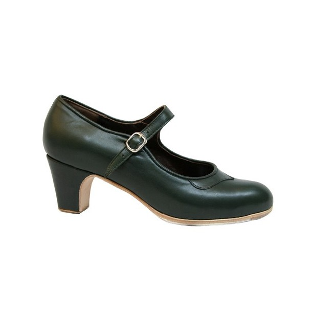 Professional Green Leather with Buckle