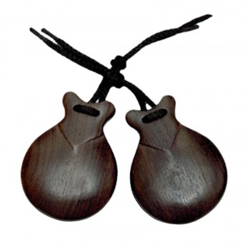 Granadillo imitation castanet