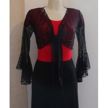 Cardigan Black Lace Lady