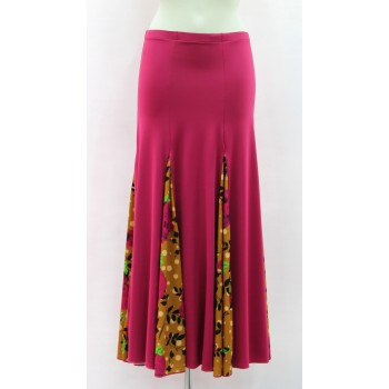 Cherry Flamenco Skirt with a lot of flight