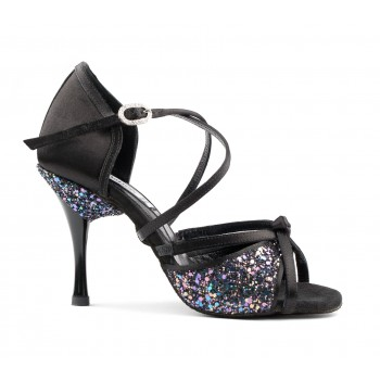Black Combined Ballroom Shoe