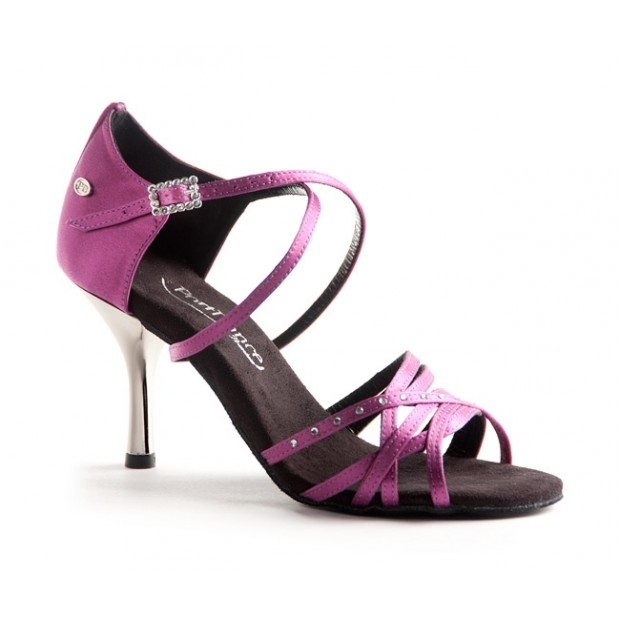 Fuchsia Satin Ballroom Shoe