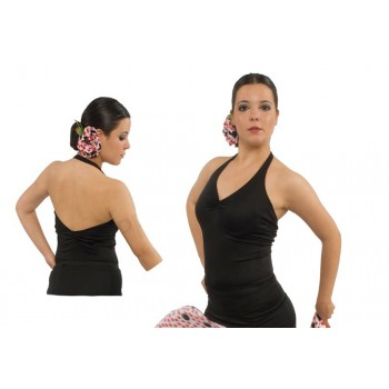Black Flamenco Body Neck Strap
