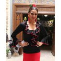 Top Flamenco Black Chorrera