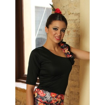 Top Black Flamenco
