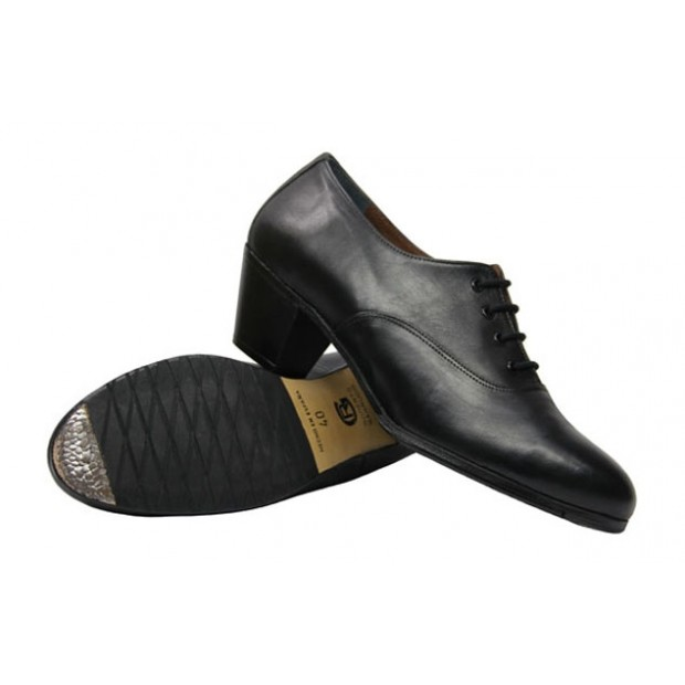 Flamenco Shoes Semiprofesional Black Leather