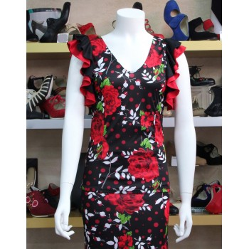 Flamenco Body Floral Print