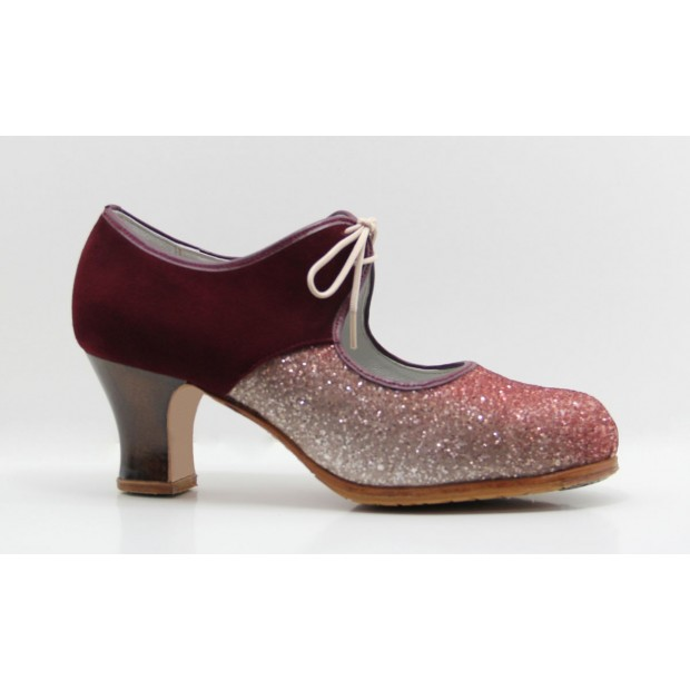 Glitter Professional Flamenco Dance Shoe