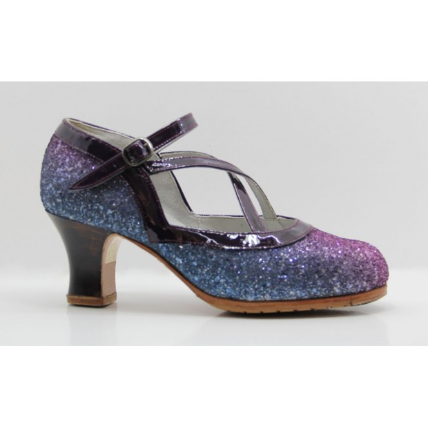 Glitter Professional Flamenco Dance Shoe