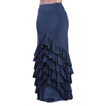 Falda Flamenco Vega Azul