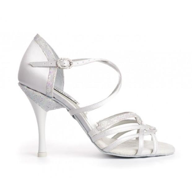 White Combined Ballroom Shoe