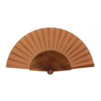 Walnut Pericón wooden hand-held fan (31 cm)
