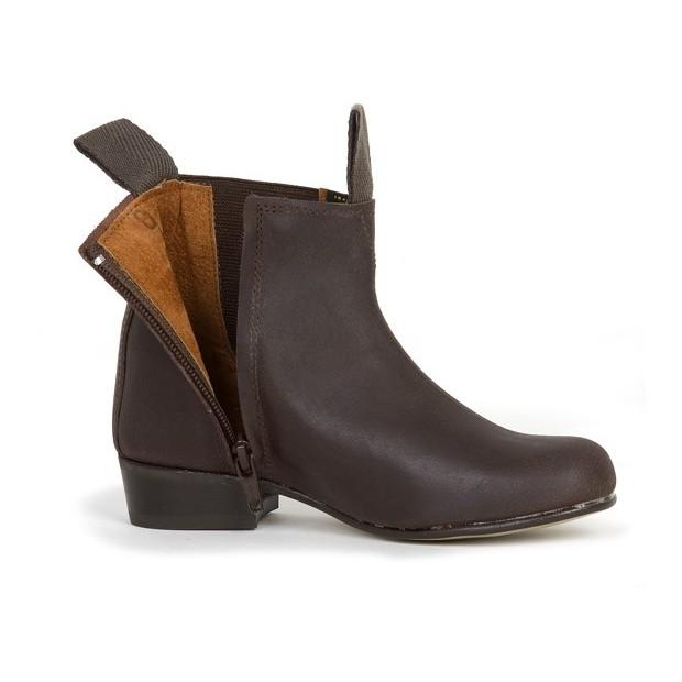 Boy's moulded shoe with zipper Valverde del Camino