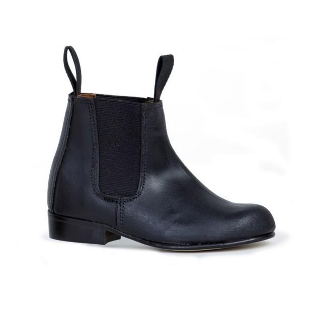 Girl's black moulded shoe Valverde del Camino