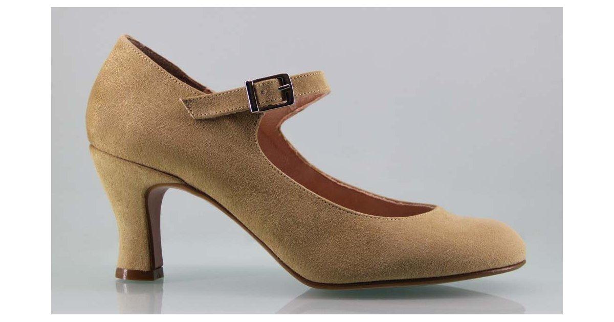 Camel Flamenca Shoe