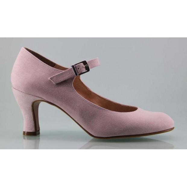 Zapato de Flamenca Maquillaje