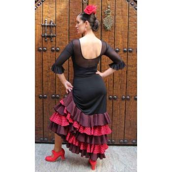 Jupe flamenco