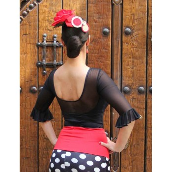Flamenco black jersey