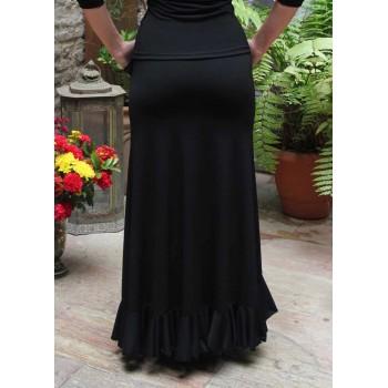 Falda Flamenco Valoria Negra