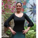 Flamenco Top Elda Black
