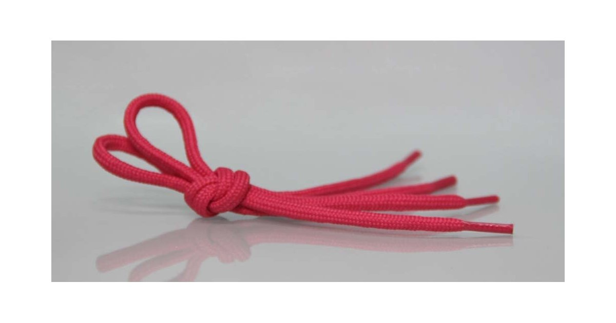 Pink laces for Castanets