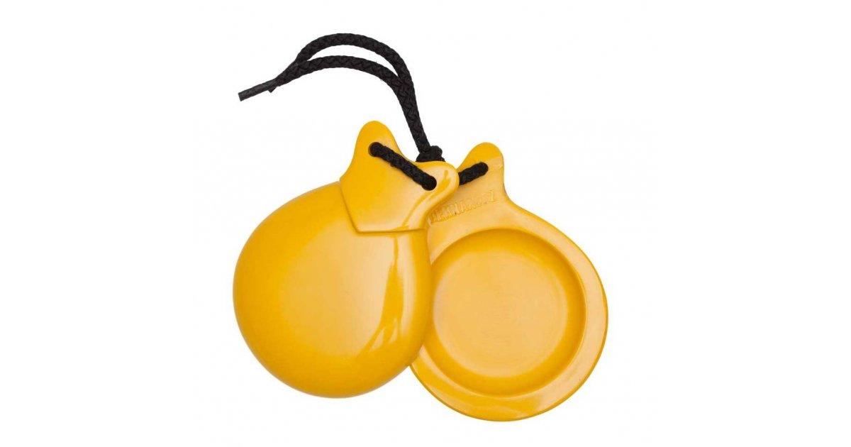 Castañuela Concierto Fibra Amarilla C/N