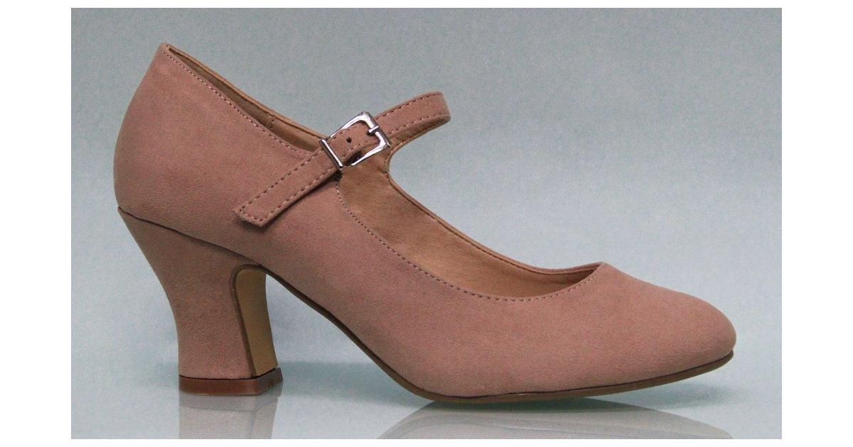 Flamenco Shoes Suede Color Makeup