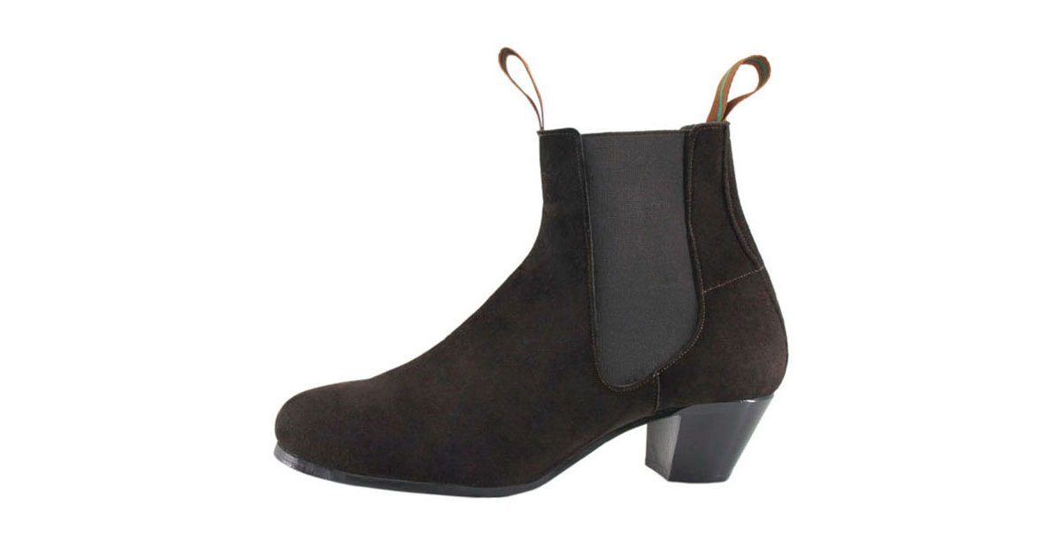 Flamenco Boot Suede Brown 39/46
