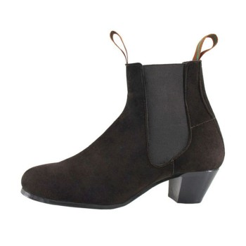 Flamenco Boot Suede Brown 39/46