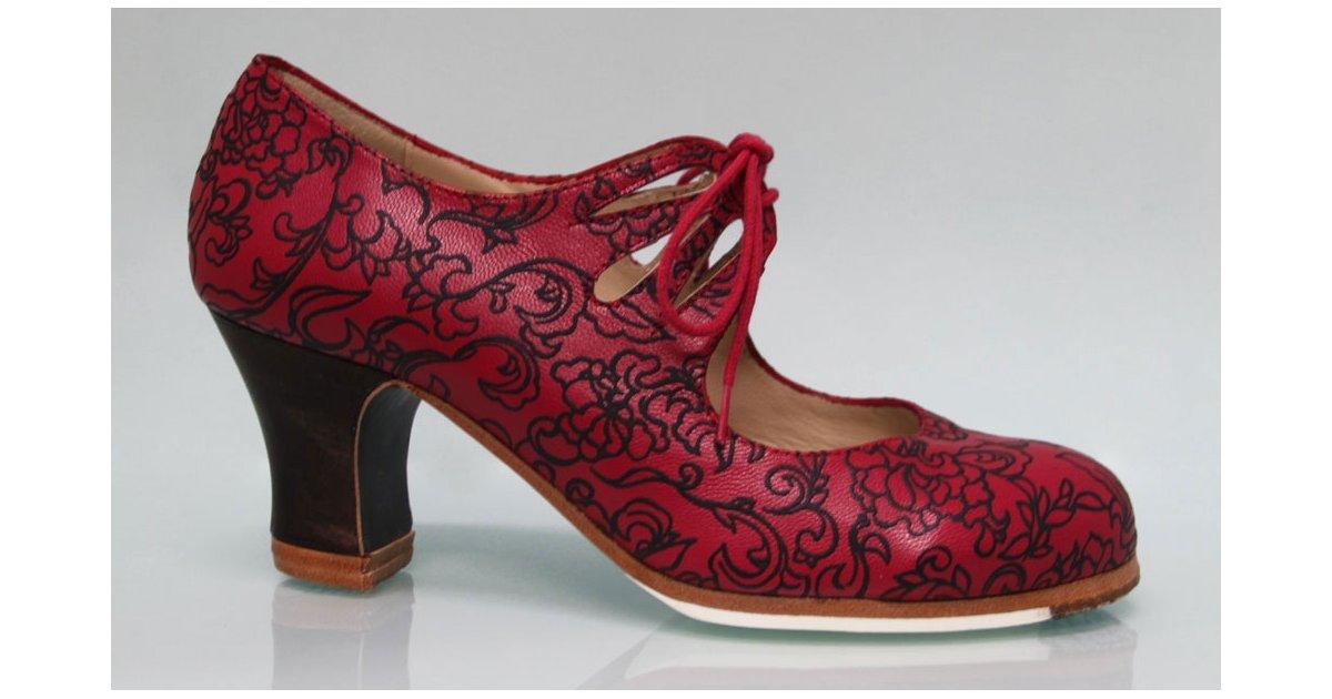 Chaussure professionnelle à lacets Red Fantasy