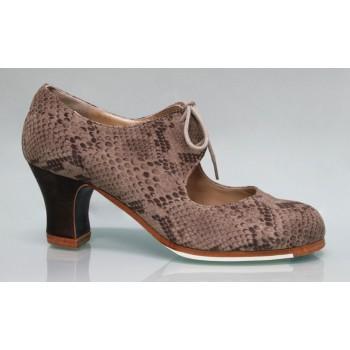 Zapato Profesional Fantasía Serpiente con Cordones
