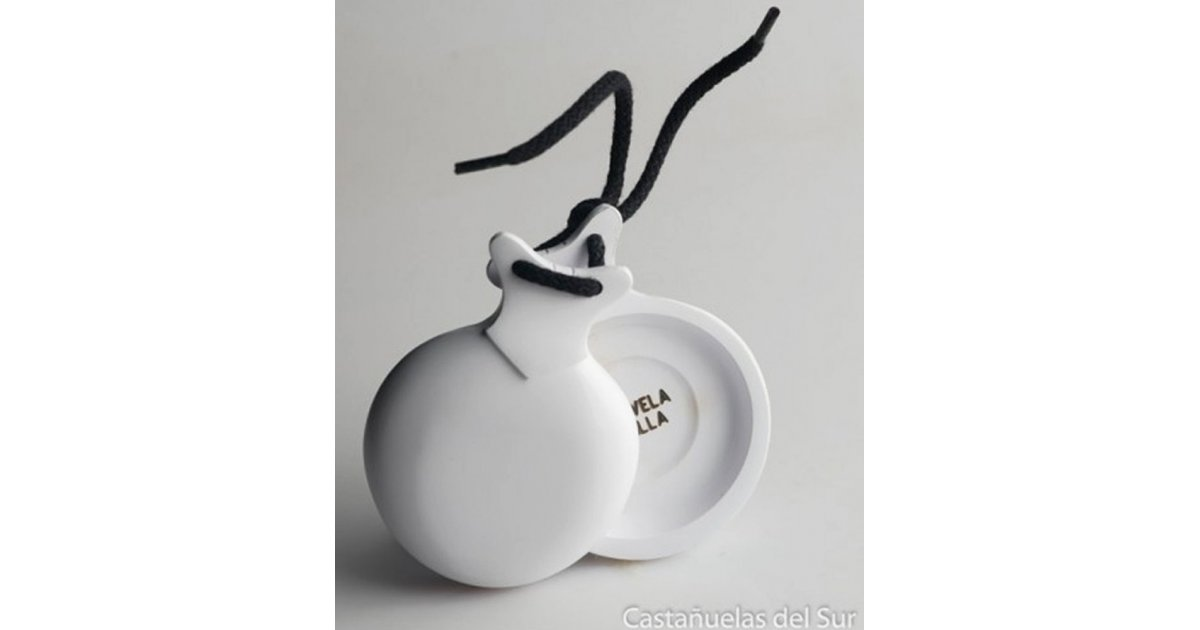Castanets Capricho White Box Double
