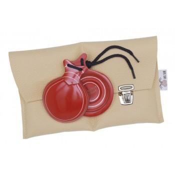 Castañuela Capricho Roja Caja Doble
