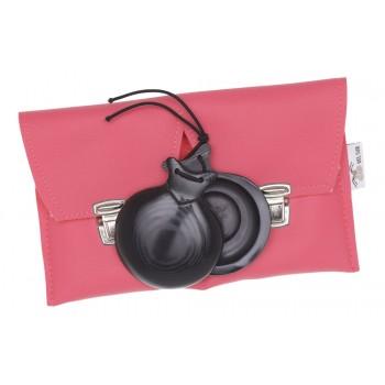 Castagnettes capricho toile Black Special jota Boîte double