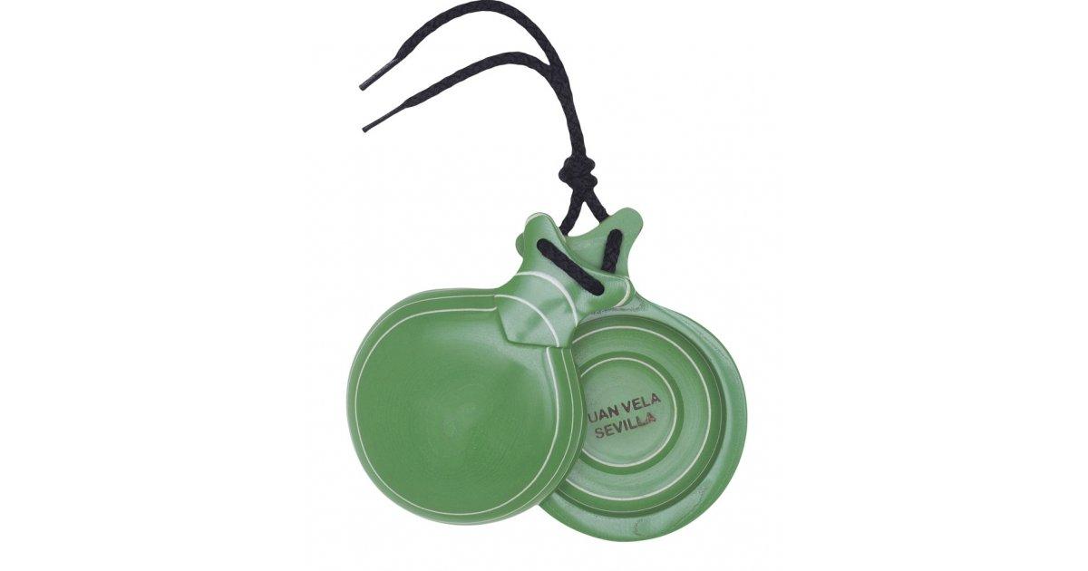 Castanets Capricho Green Box Double