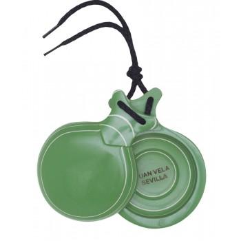 Castagnettes capricho Vert de Boîte Double