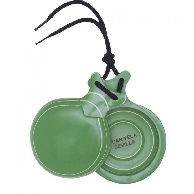 Castañuela Capricho Verde Caja Doble