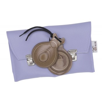 Castagnette tissu Caramel Boîte Normale