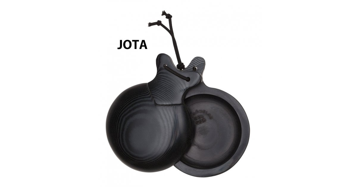 "Castañuela Black fabric Normal box ""Jota Special"""