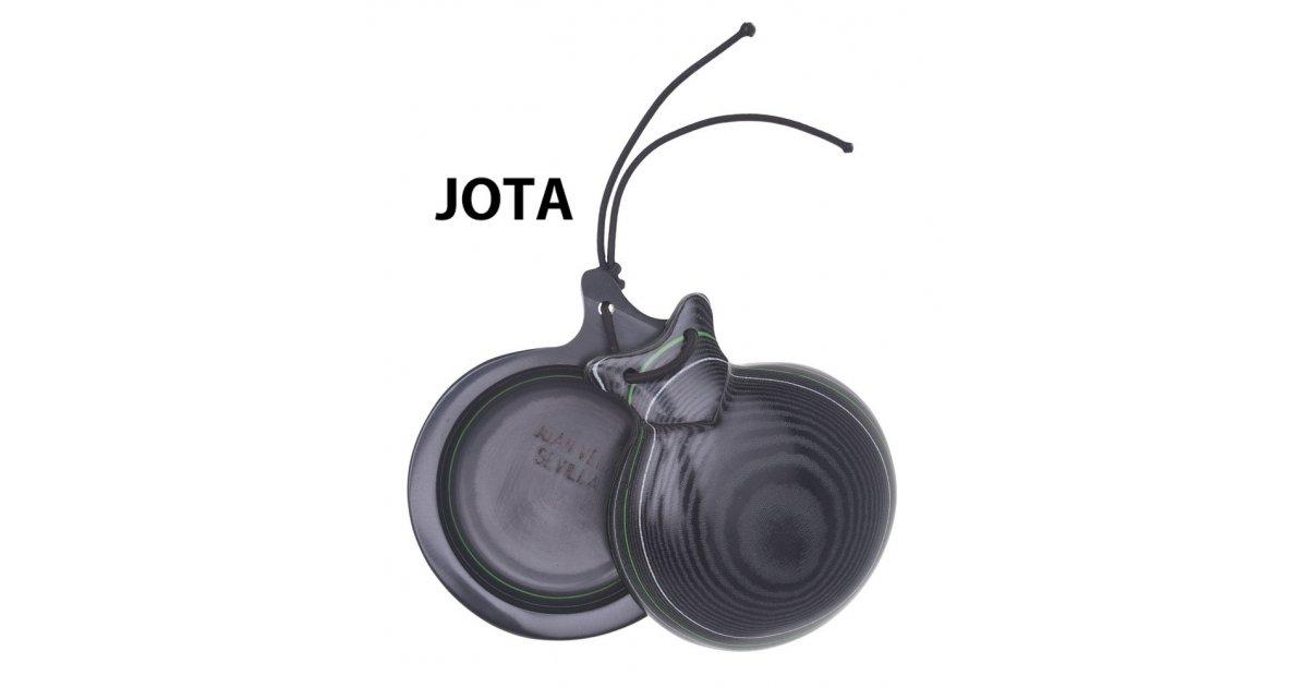 Castañuela Capricho Tela Negra Caja Normal Especial Jota