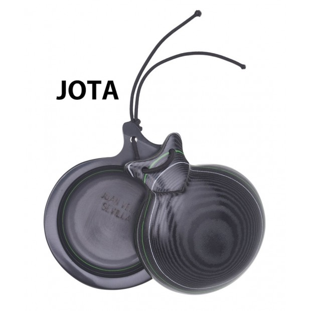 "Castanets Capricho Black Fabric Normal Box ""Jota Special"""