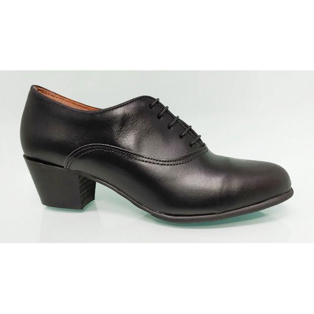 Flamenco Shoe Amateur Black Leather