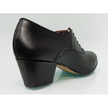 Zapato Flamenco Amateur Piel Negro