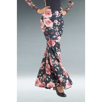 Floral Flamenco Fallen Skirt Roses