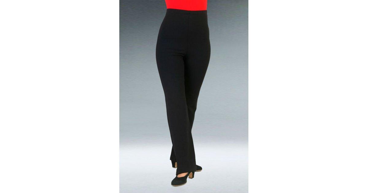 Pantalón Flamenco Negro